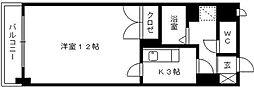 エトランゼ12[105号室]の間取り