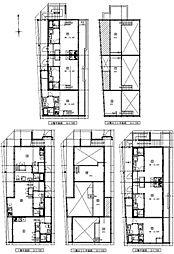 (仮称)港区新川町II 新築アパート[201号室号室]の間取り