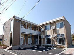 長野県松本市中央3丁目の賃貸アパートの外観