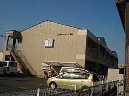 愛知県一宮市今伊勢町本神戸字四ツ割の賃貸アパートの外観