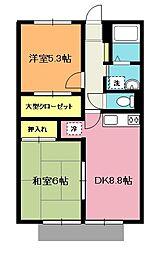 エステートガーデン[2階]の間取り
