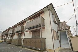 埼玉県入間郡毛呂山町大字毛呂本郷の賃貸アパートの外観