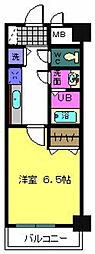 リバーサイド金岡 五番館[5階]の間取り