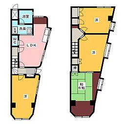 シャレー本郷[2階]の間取り
