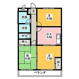 グランドール明円[2階]の間取り