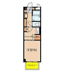 カーサ・ラ・フエンテ[3階]の間取り