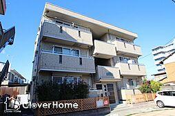 神奈川県相模原市中央区上溝6丁目の賃貸アパートの外観