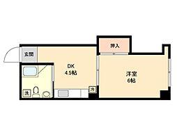 慶応マンション[0302号室]の間取り
