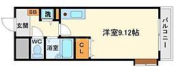 ビスタ江坂南[10階]の間取り