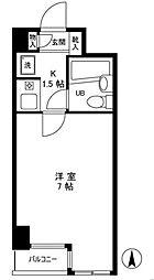 クリオお花茶屋壱番館[3階]の間取り
