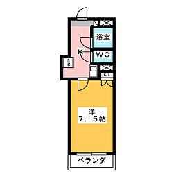 ロイヤルマンション磐田[2階]の間取り