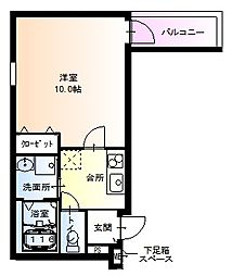 フジパレス堺鳳東6番館[302号室]の間取り