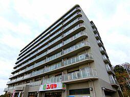 大阪府堺市南区竹城台4丁の賃貸マンションの外観