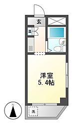 ドール東海通[1階]の間取り