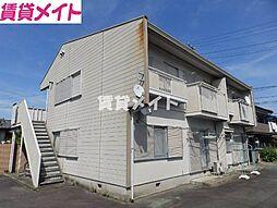 殿町ハイツ藤 B[2階]の外観