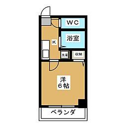 バインオークNIC[2階]の間取り