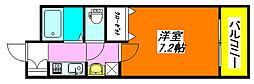 カーサ・デル・ソーレ 505号室[5階]の間取り