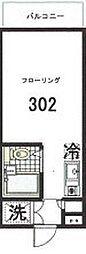 東京都世田谷区代田2丁目の賃貸マンションの間取り