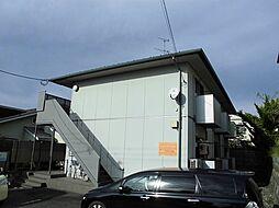 新潟県新潟市秋葉区松ヶ丘1丁目の賃貸アパートの外観