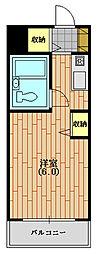 ウィンベルソロ西武球場第二[204(生活保護受給者支援)号室]の間取り