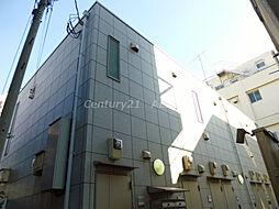東京都北区中里2丁目の賃貸アパートの外観