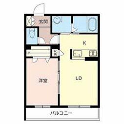 SUNSHINE NAKAMOZU[3階]の間取り