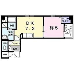 フォレスタ.I[4階]の間取り