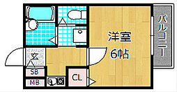 ハイツハーモニー[2階]の間取り