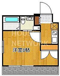 ラナップスクエア京都駅西[506号室号室]の間取り