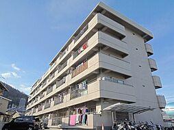 京都府京都市山科区西野山射庭ノ上町の賃貸マンションの外観