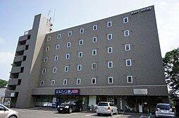 北海道北広島市中央6丁目の賃貸マンションの外観