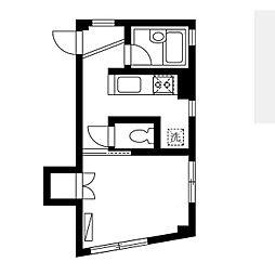 マイプレイスナオ[3階]の間取り