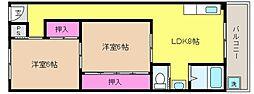 西松本マンション[1階]の外観