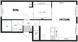 ロワイヤルマンション[3階]の間取り