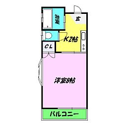 サンワード21[2階]の間取り