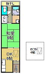 [一戸建] 大阪府大阪市大正区南恩加島3丁目 の賃貸【大阪府 / 大阪市大正区】の間取り