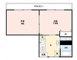 第11正田ビル[103号室]の間取り