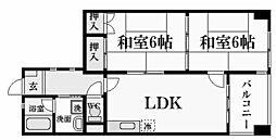 アビタ・コシキイワ[3階]の間取り