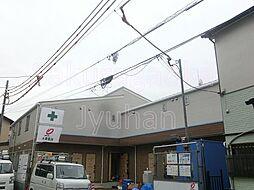 東京都目黒区南1丁目の賃貸アパートの外観