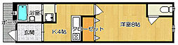 [テラスハウス] 大阪府守口市菊水通2丁目 の賃貸【大阪府 / 守口市】の間取り
