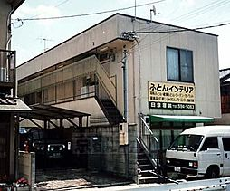 京都府京都市山科区御陵久保町の賃貸アパートの外観