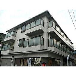 テースト西田中[3階]の外観