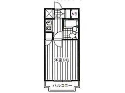 ベルタール橋本[2階]の間取り