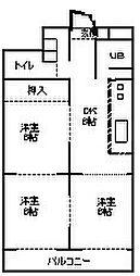 チサンマンション栄[8階]の間取り