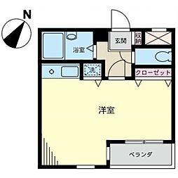 神奈川県相模原市南区相模大野2丁目の賃貸マンションの間取り