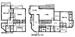 [一戸建] 静岡県三島市芙蓉台3丁目 の賃貸【/】の間取り
