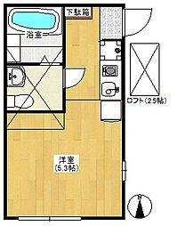 サクヤパレス戸塚[2階]の間取り