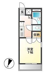 フォレスト318[2階]の間取り
