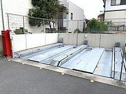 機械式駐車場上段(車種制限あり)
