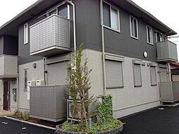 茨城県水戸市瓦谷の賃貸アパートの外観